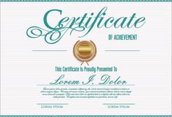 Downloadable E-Certificate
