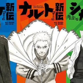 Boruto: Naruto Next Generation | Light Novel Naruto Shinden será adaptada em anime !