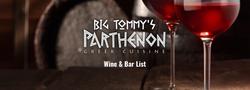 Big Tommy's Wine & Bar Menu
