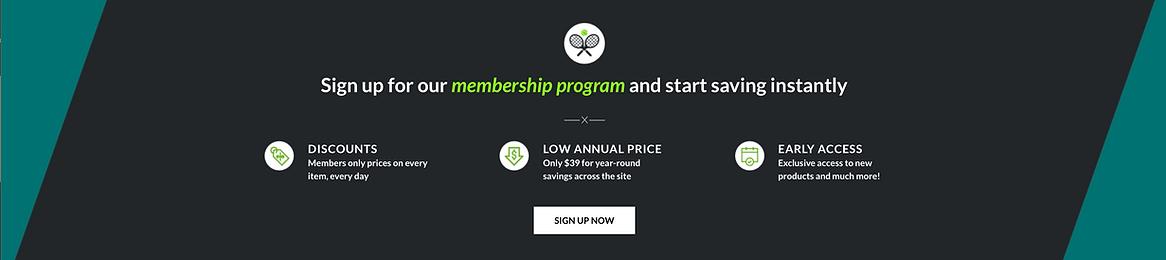 The Tennis & Golf Company Membership Program