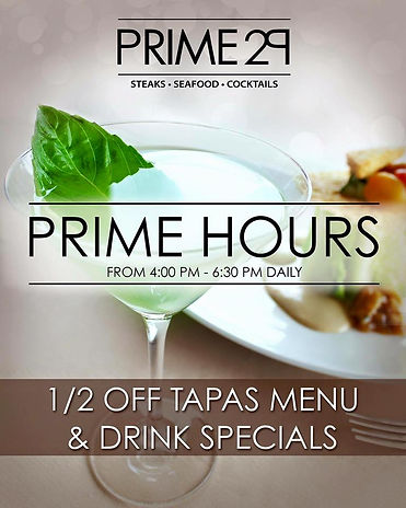 Detroit's best happy hour at Prime 29 Steakhouse in West Bloomfield.  Visit Best of Detroit and Detroit Fine Dining for exclusive offers to Detroit's best restaurants.
