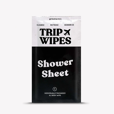Trip Wipes Shower Sheet   Best of Detroit sanitizing and PPE products