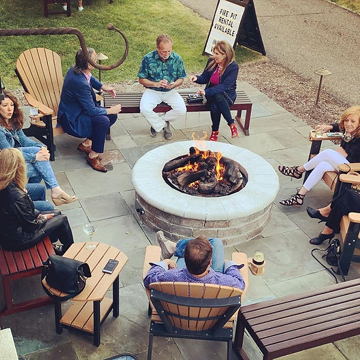 Summer Fire Pit Rentals | The Royal Park Hotel and Park 600 in Rochester, Michigan