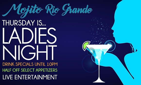 Mojito Rio Grande Ladies Night | Best Mexican Restaurants Detroit.