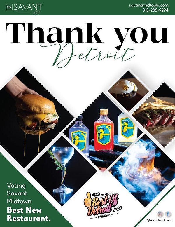 Best new restaurants in Detroit 2020 | Savant Midtown