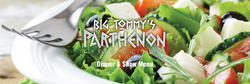 Big Tommy's Dinner and Show Menu