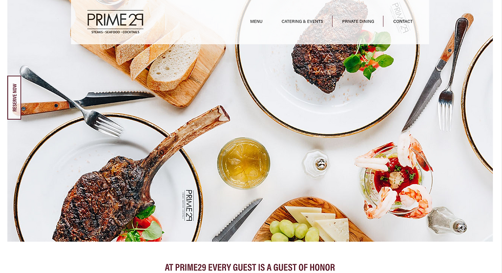 West Bloomfield's best steakhouse | Prime 29 Steakhouse