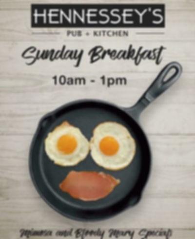 Hennessey's Pub + Kitchen Daily Specials | Best Detroit brunch
