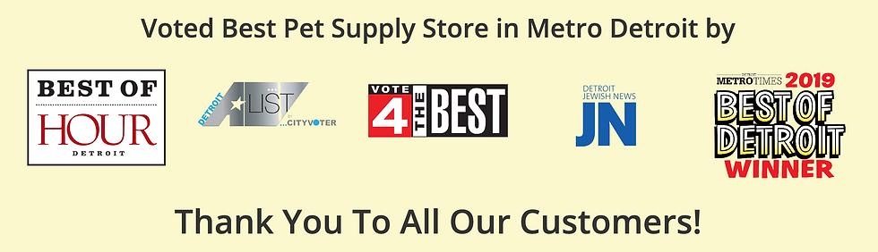 Best pet store in Detroit | Premier Pet Supply