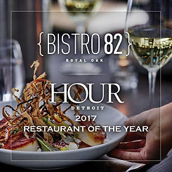 Win dinner at Bistro 82.  Sponsored by Best of Detroit and Detroit Fine Dining.  Featuring Detroit's best restaurants.