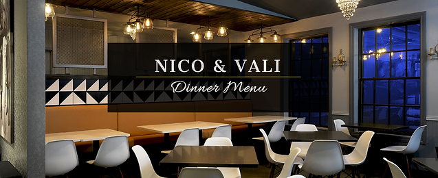 Nico and Vali Italian Eatery Dinner Menu Featured On Best of Detroit