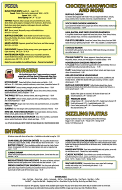 Library Sports Pub and Grill Novi Menu | Best of Detroit