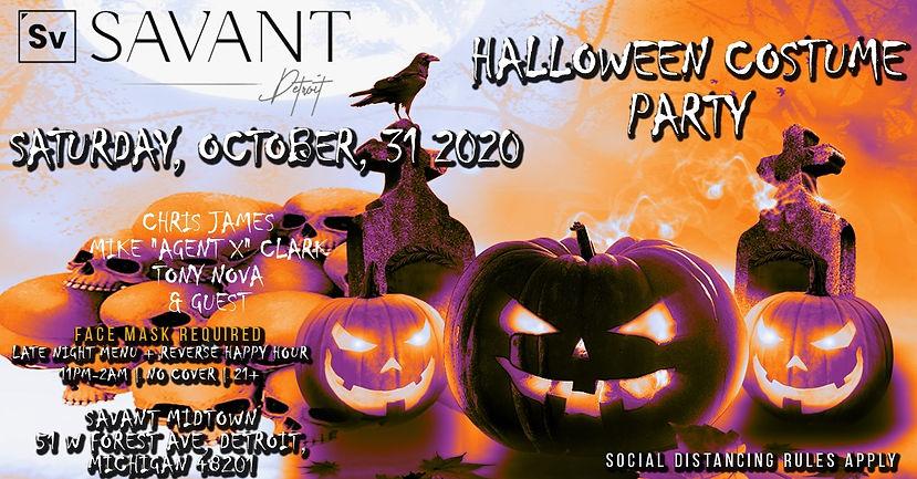 Best of Detroit Halloween Party   Savant Midtown