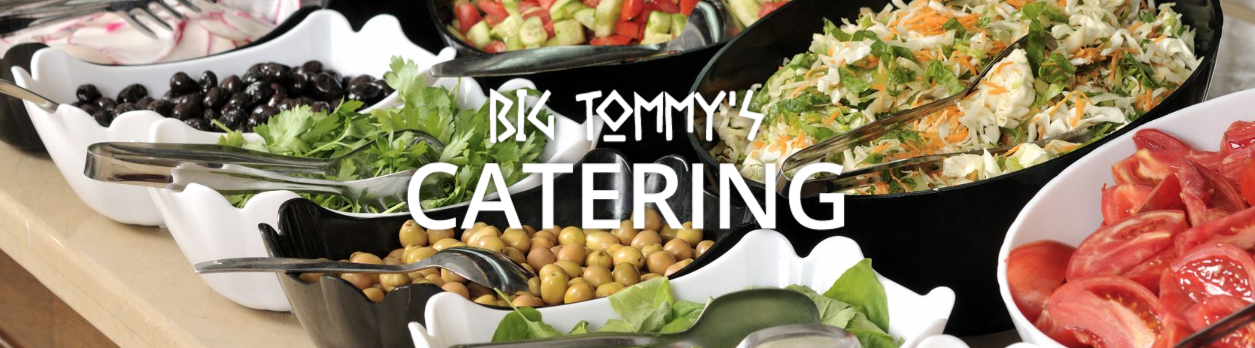 Big Tommy's Catering Menu