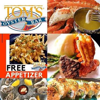 Tom's Oyster Bar in Royal Oak | Best of Detroit Restaurant of the Month | September 2020