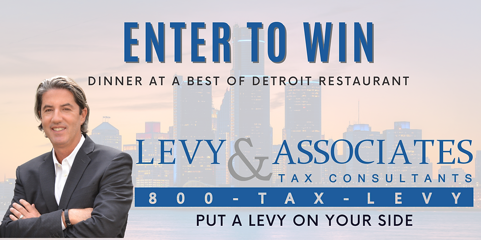 Who to call in Detroit when you need help with the IRS | Levy & Associates Tax Consultants