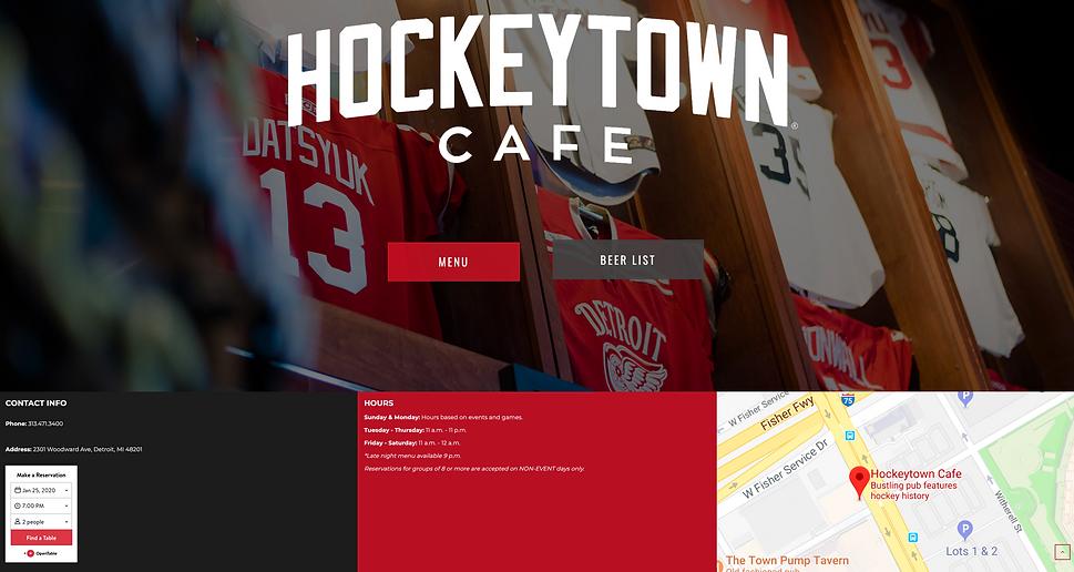 Detroit's best sports bars | Best of Detroit | Hockeytown Cafe