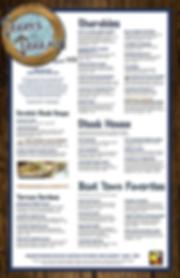 Detroit's best seafood restaurants | Terry's Terrace menu