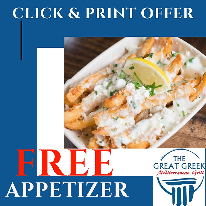 Best restaurant deals in Detroit | The Great Greek Mediterranean Grill in Troy, Michigan