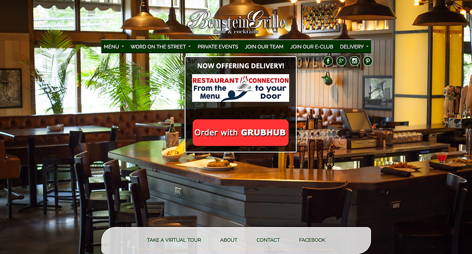 Benstein Grille website | Best of Detroit Restaurants