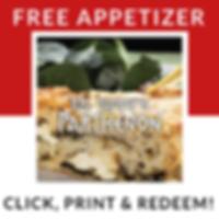 Big Tommy's Parthenon Free Appetizer | Detroit Restaurant Deals