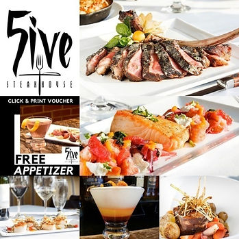 Best of Detroit restaurant of the month | 5ive Steakhouse in Plymouth, Michigan