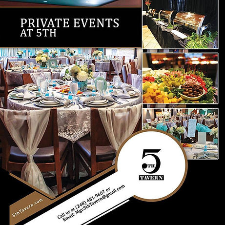 5th Tavern | Best of Detroit | Best Banquet Hall and Private Party Venue Detroit