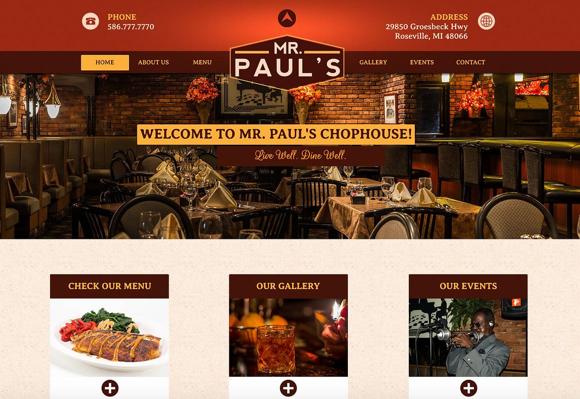 Best Steakhouses in Detroit | Mr. Paul's Chophouse