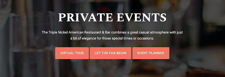 Best Private Event space in Downtown Birmingham, Michigan | Triple Nickel
