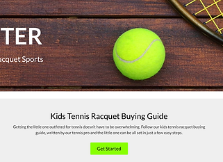 Best place to buy kids tennis racquets in Detroit