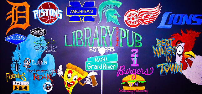 Library Sports Pub and Grill | Best of Detroit