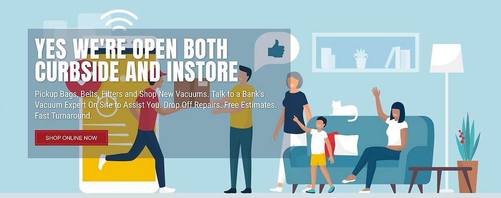 Detroit's best vacuum store and vacuum service | Bank's Vacuum Stores