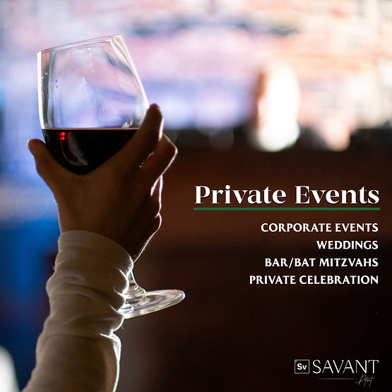 Best restaurant for private and corporate parties | Savant in Midtown Detroit