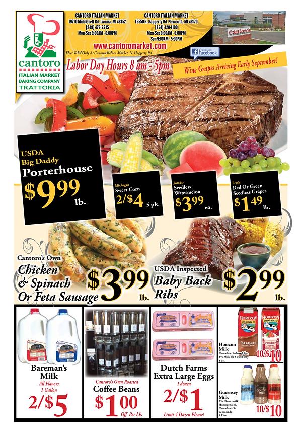 Best Market in Detroit   Cantoro Italian Market