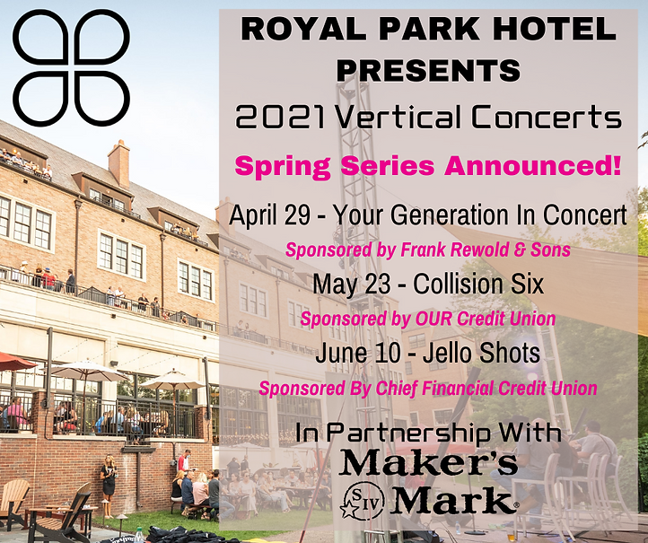 Concert Series | Best hotel restaurant in Detroit | Park 600 at the Royal Park Hotel in Rochester