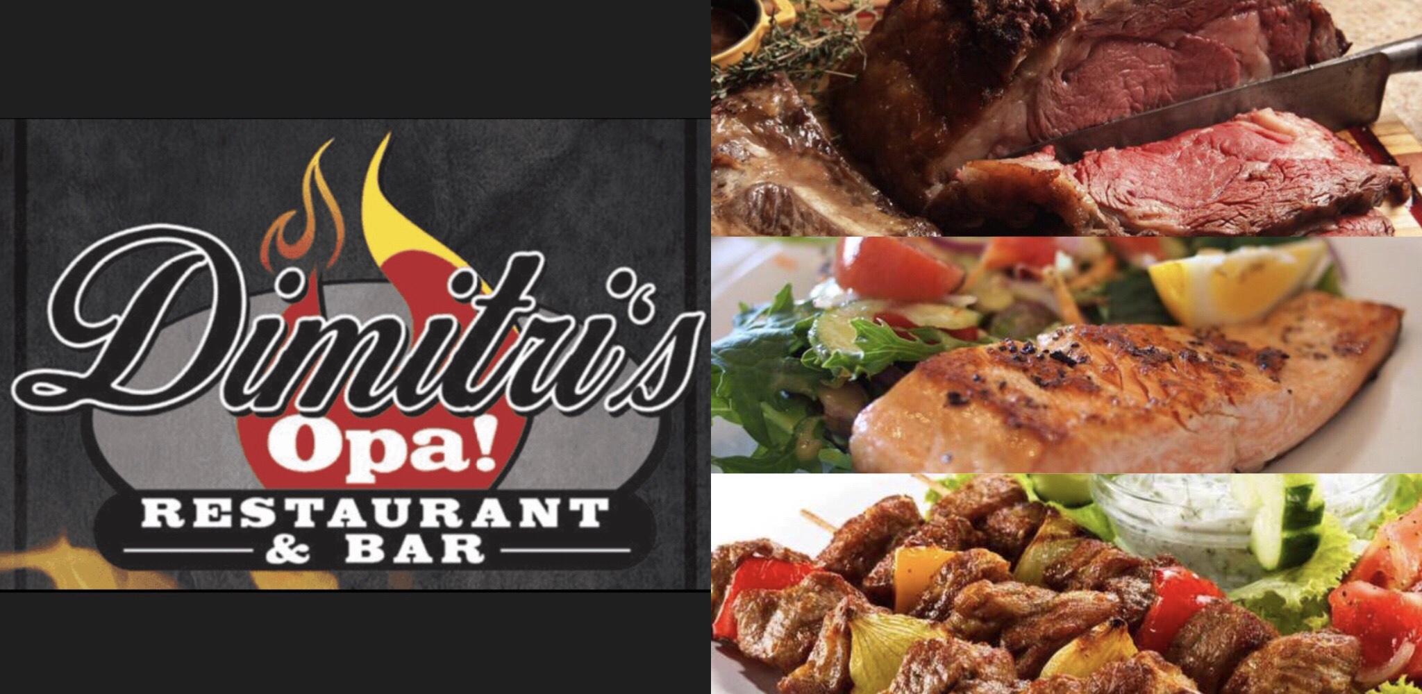 Dimitri's Opa Restaurant & Bar