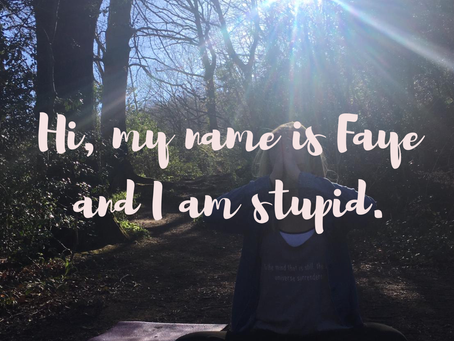 My Name Is Faye, And I Am Stupid