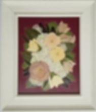 8x10 burgandy background, white frame.jp