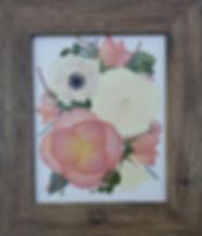 8x10 cream background, brown barnwood CO