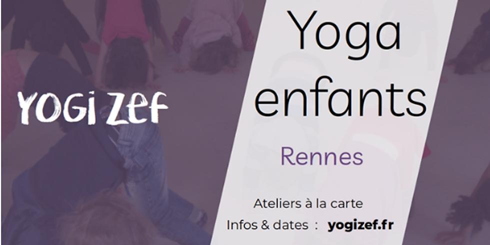 """Yoga enfant : """" A l'école de la magie"""" - 7 à 11 ans"""