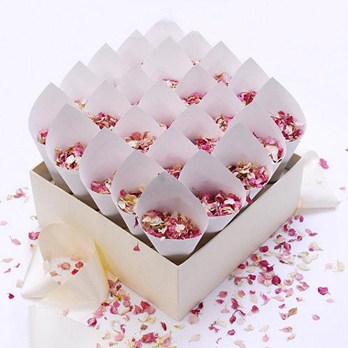 Natural Confetti Box