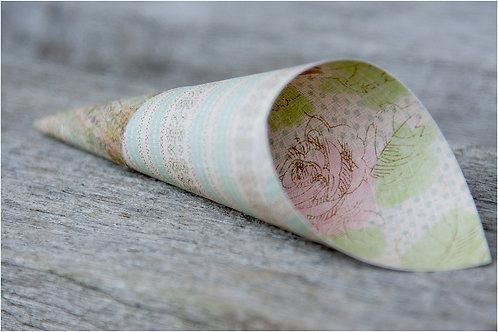 Vintage paper cones
