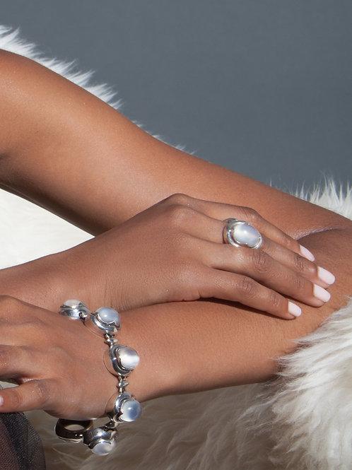 Donia Moonstone Ring