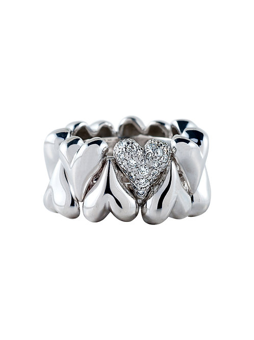 Passion Ring with Diamonds