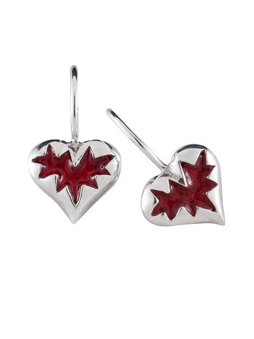 Mini-Prisoner Earrings