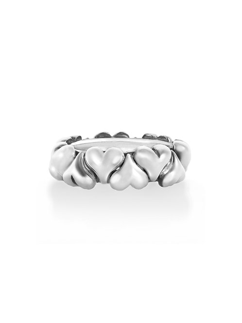 Desire Interlocking Heart Rings