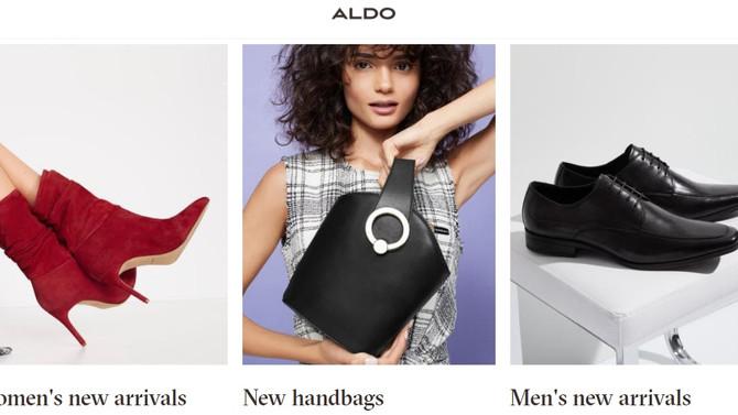 Скорее на сезонную распродажу ALDO