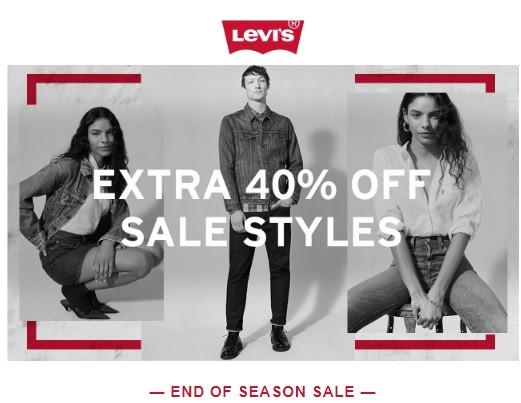 Легендарные джинсы от Levi's со скидкой 40%😃