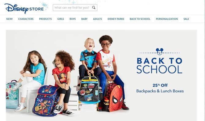 Пора подготавливаться к школе! Рюкзаки с любимыми героями Disney со скидкой 25%!