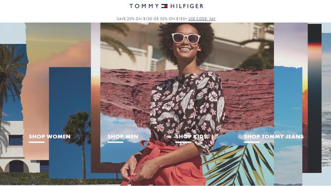 30% дополнительной скидки на Tommy Hilfiger при заказе от 150$